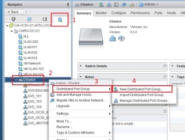 How to recover vCenter Server while using vDS? – Arab IT Network