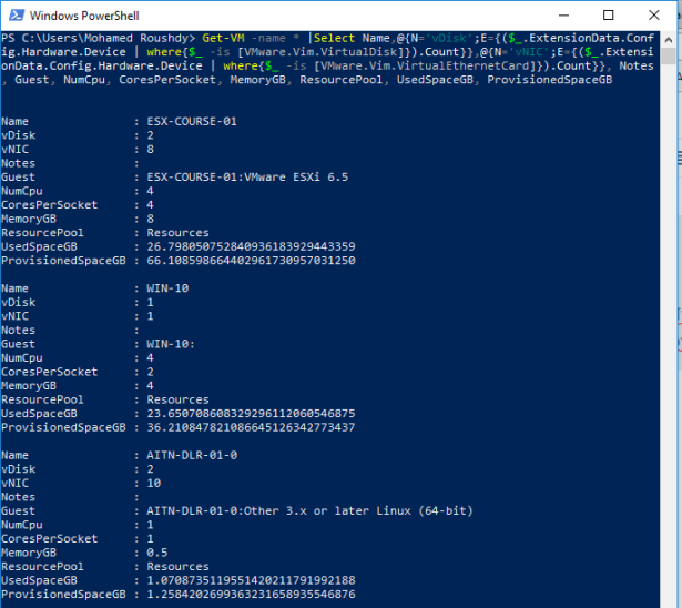 For VMware Admins   day-to-day useful PowerCLi commands