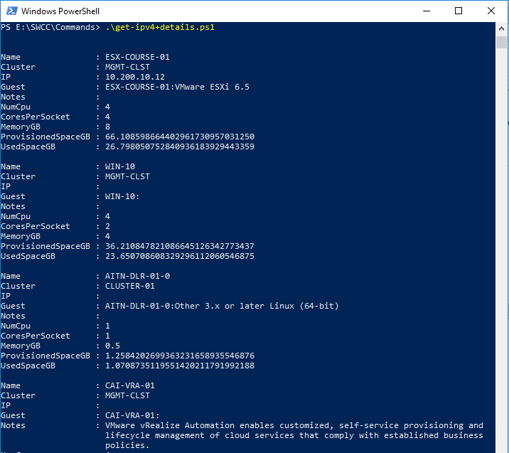 For VMware Admins | day-to-day useful PowerCLi commands/scripts